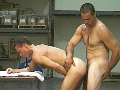 After Work Muscle Men Sex