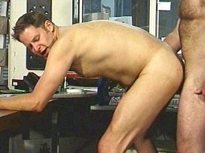 Office Bodybuilder Sex