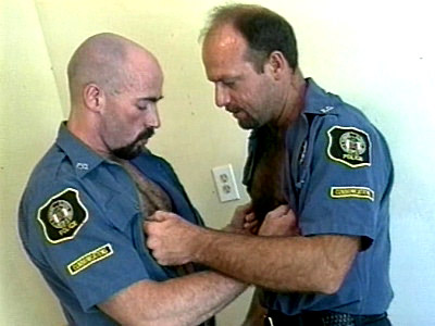 Hot Cop Bodybuilders